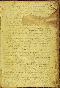 Página 1 do Manuscrito.