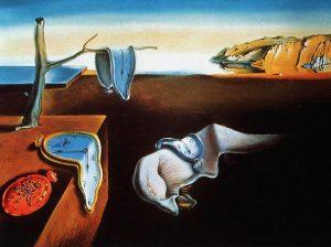 A Persistência da Memória. S. Dalí.