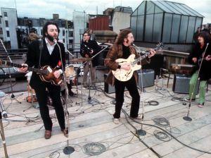 Concerto dos Beatles no terraço da Apple Records