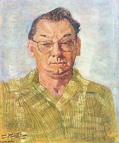 Autorretrato, 1956. C. Portinari.