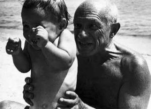 O artista Pablo Picasso