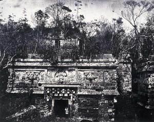 Palácio de Nonnes. Desiré Charnay, 1859.