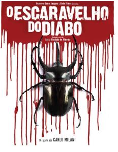 Cartaz do filme O Escaravelho do Diabo. Img: Divulgação.