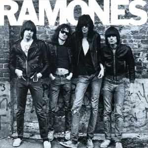 Capa do álbum Ramones, de 1976.