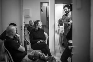 Nos bastidores do espetáculo teatral (Foto: Gabriela Ramos)