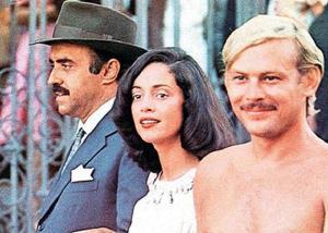 No papel de Vadinho, da obra-prima de Jorge Amado. Ao lado de Sonia Braga e Mauro Mendonça.