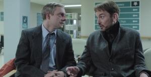 Martin Freeman e Billy Bob Thornton em de Fargo