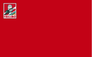 Bandeira da FRELIMO.