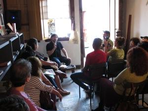 Marcelino Freire na Casa da Libre