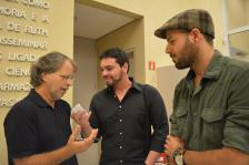 Escritor Mia Couto, durante entrevista ao Livre Opinião.