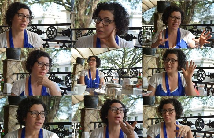 Andrea Del Fuego clicada por Luana Sacilotto