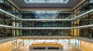 Prédio da Biblioteca Brasiliana Guita e José Mindlin.