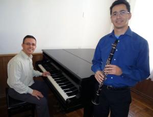 Fred Cavalcante e Alessandro Silva. Foto: Divulgação.