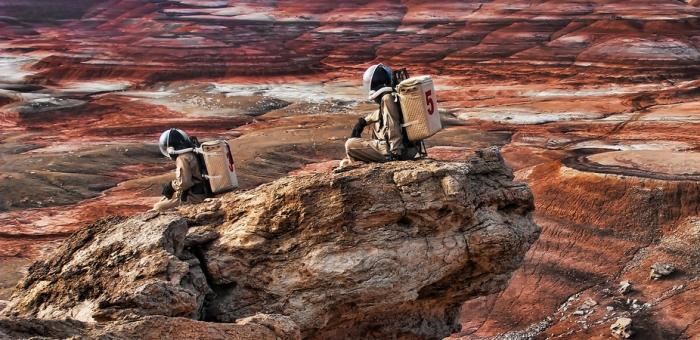 Parece o planeta vermelho, mas não é: é Utah, uma das áreas mais parecidas com Marte aqui na Terra. Img: Ashley Dove-Jay.