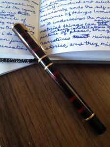 Minha caneta Waterman.