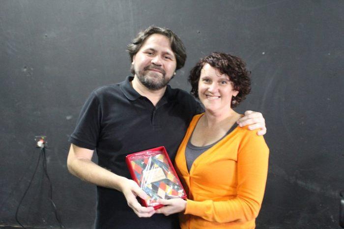 Marcelino Freire doa para UEIM - Unidade Especial de Informação e Memória, coordenada pela Prof Rejane C. Rocha, a primeira edição de Paulicéia Desvairada.