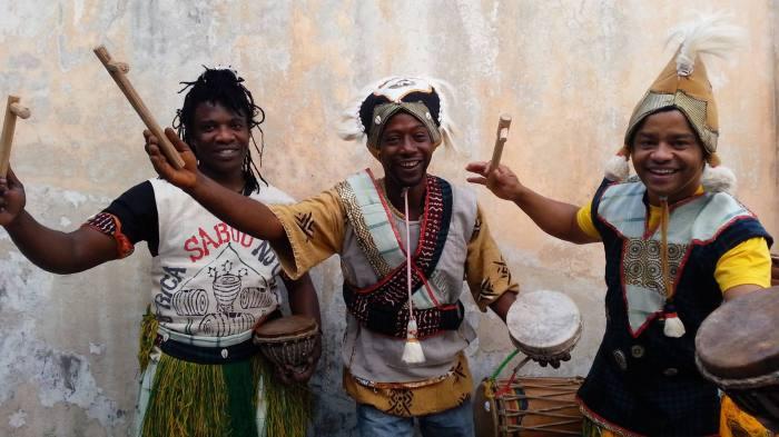 Contos dançados da Guiné e roda de conversa. Foto: Divulgação.