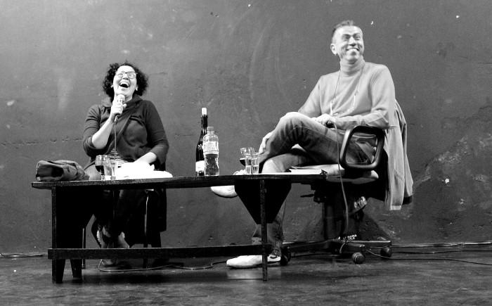 Andrea del Fuego e Jorge Valentim (Foto: Filipe Baldin)