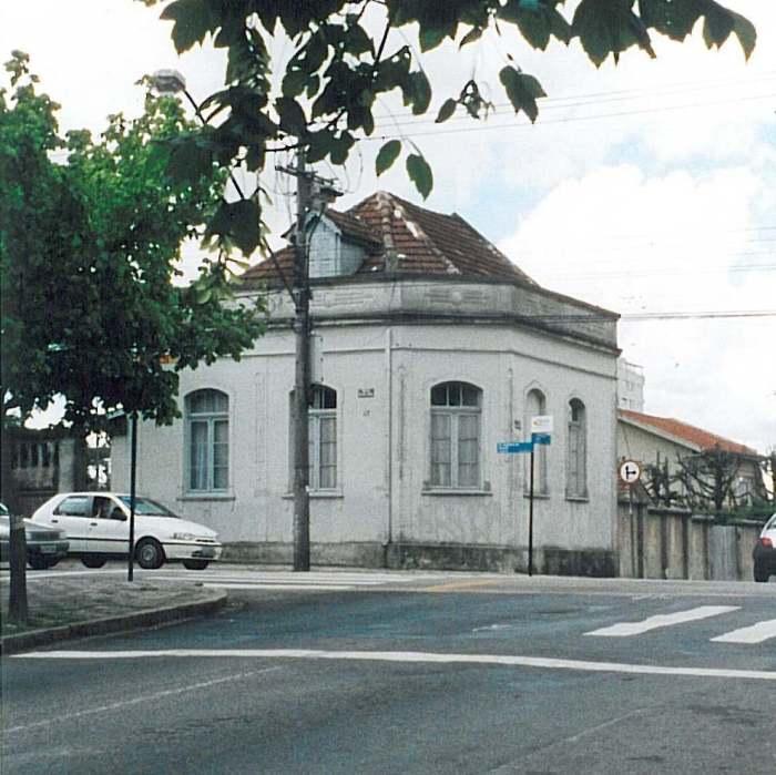 Residência de Dalton Trevisan (Foto: Marcelino Freire)