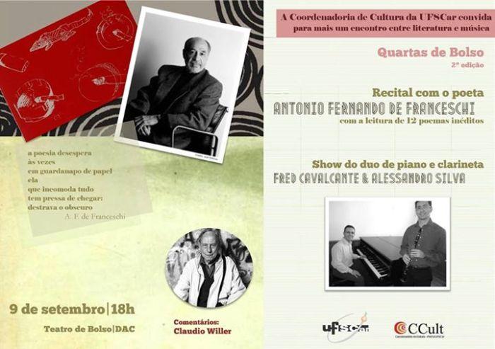 CONVITE QUARTAS DE BOLSO, DE FRANCESCHI