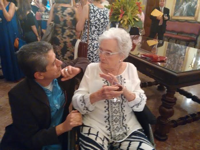 Dona Cleo e Jorge Valentim