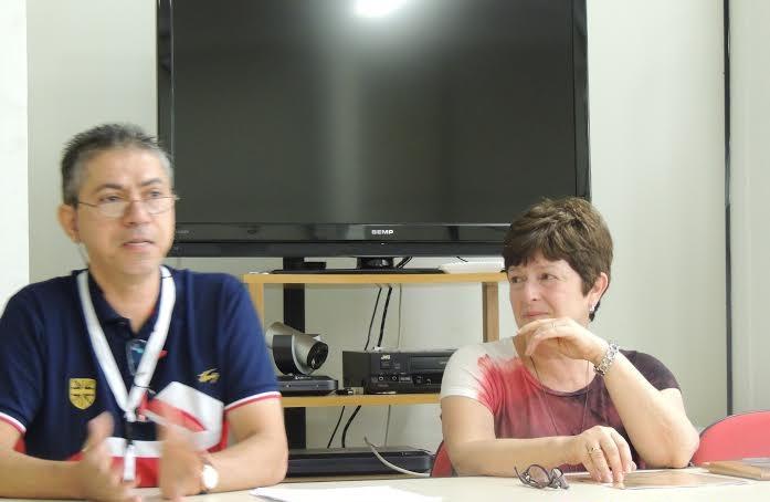Jorge Valentim eTania Pellegrini