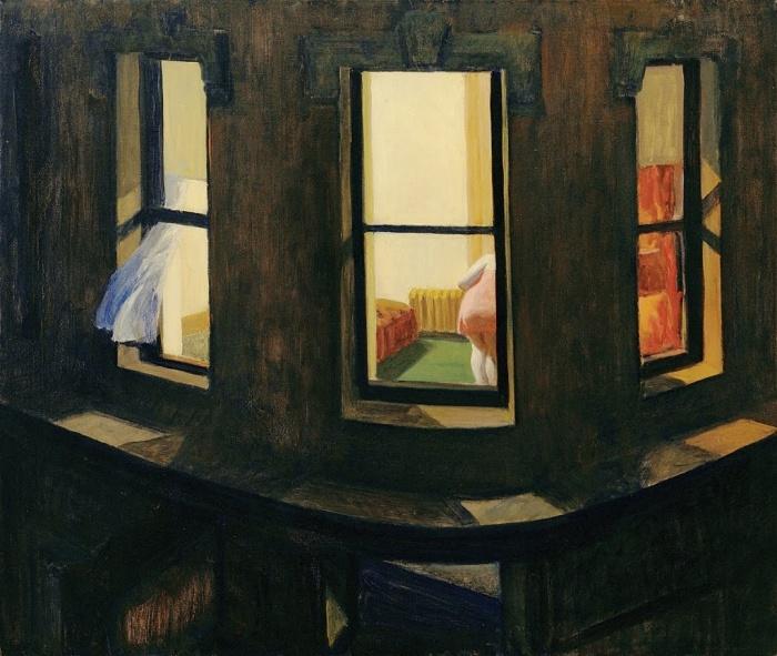 "Edward Hopper ""Night Windows"""