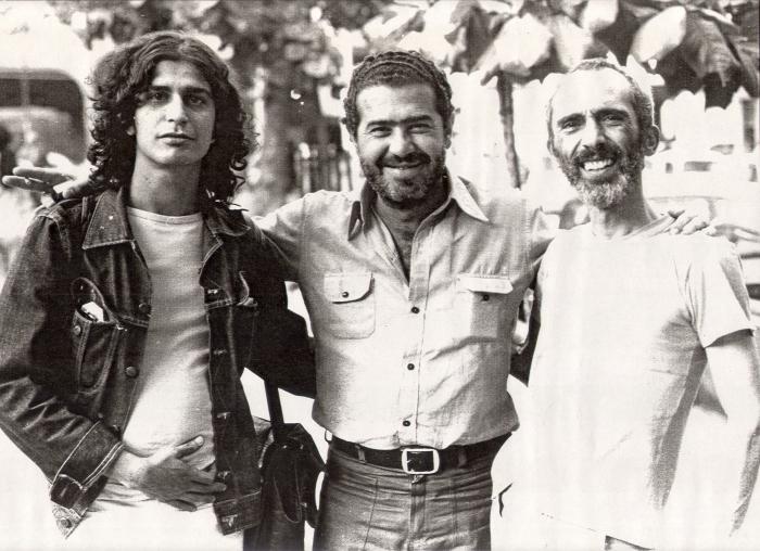 Hamilton Almeida Filho, João Antônio e Paulo Patarra // Foto: CEDAP – UNESP-Assis