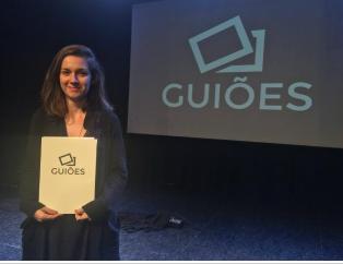 Mariana Tesch Morgan, autora de Amém, roteiro vencedor do Guiões 2016