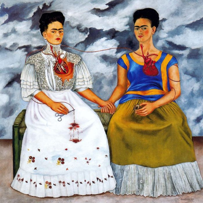 'As duas Fridas', de Frida Kahlo, 1939