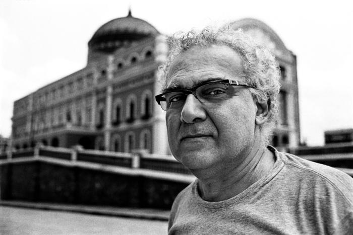 Milton Hatoum (Foto: Victor Dragonetti - Acervo Itaú Cultural)