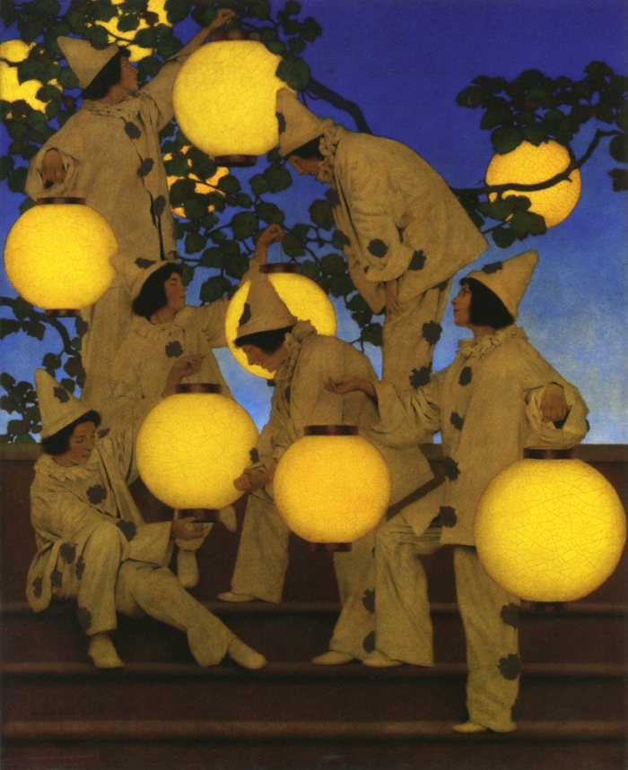 'The Lantern Bearers' (1908), de Maxfield Parrish