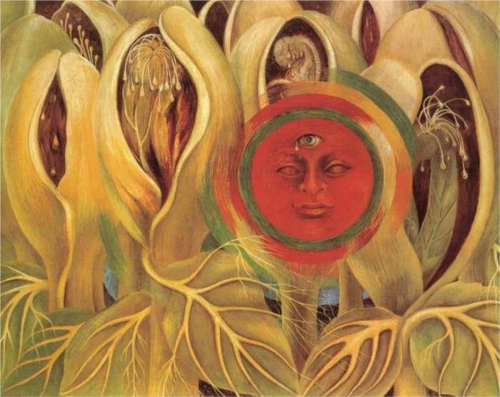 Sun and Life, por Frida Kahlo (1947)
