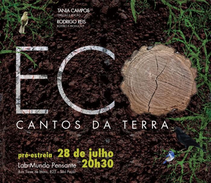 Folder Eco - Cantos da Terra