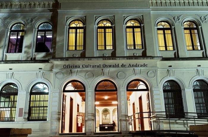 OFICINA CULTURAL OSWALD DE ANDRADEINTERIOR E FACHADA01/03/2013