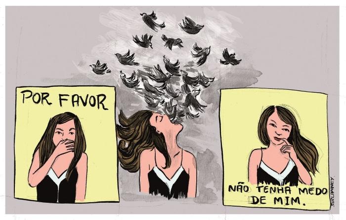 Sirlanney Nogueira - medo