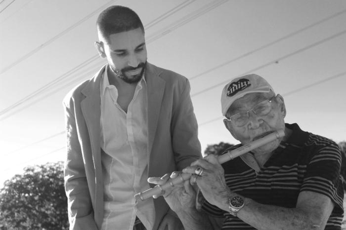 Programa Retratos - Intérprete criador Erico Santos e Sebastião Biano - divulgação