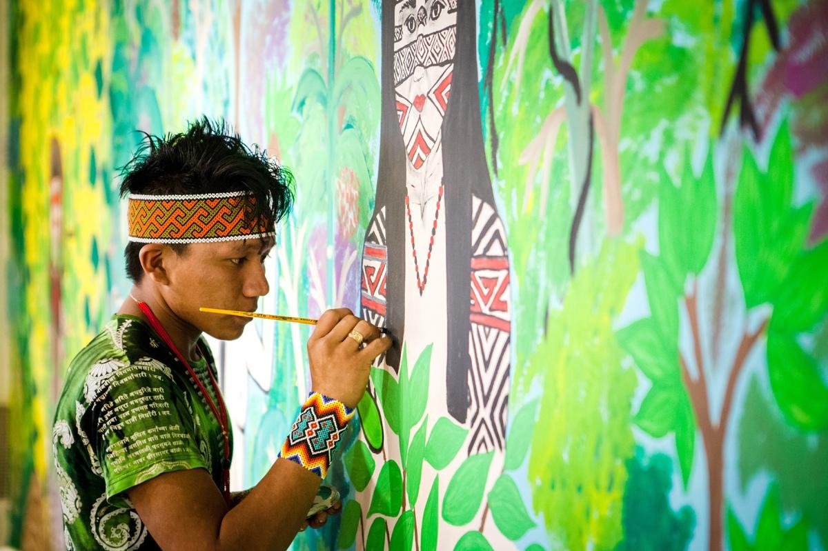 A sabedoria, ciência, arte e história do povo Huni Kuin fecham as mostras do ano no Itaú Cultural