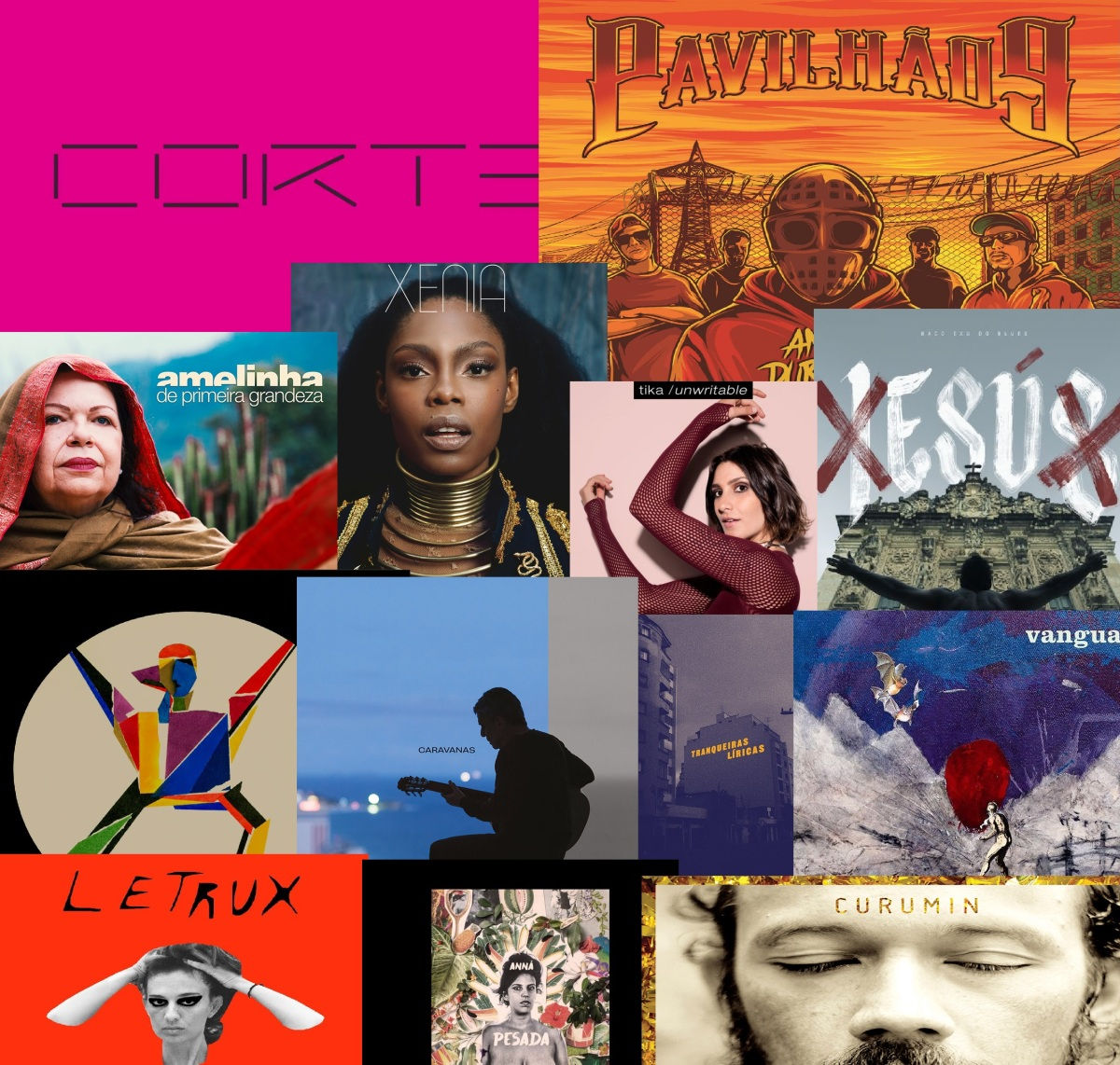 Livre Opinião indica 17 álbuns nacionais lançados em 2017