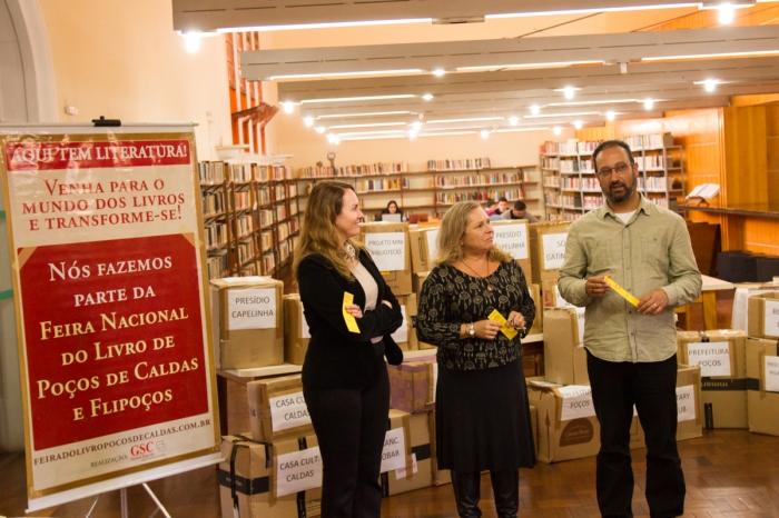 livros doados_foto_Bruno Alves