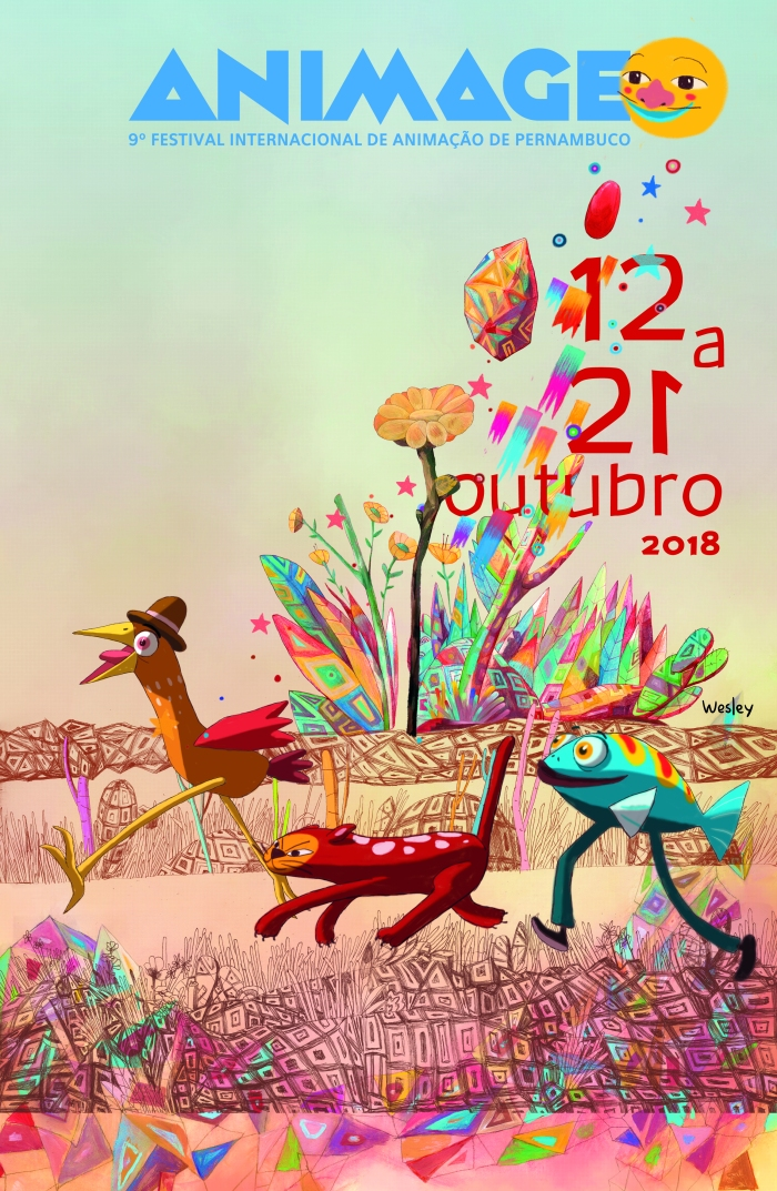_ Cartaz Animage2018 Arte de Wesley Rodrigues