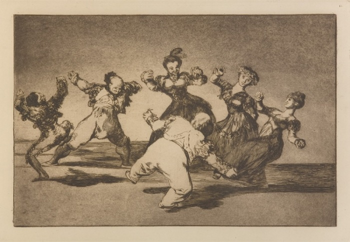 Loucuras Anunciadas - Francisco Goya - Disparate Alegre (800)
