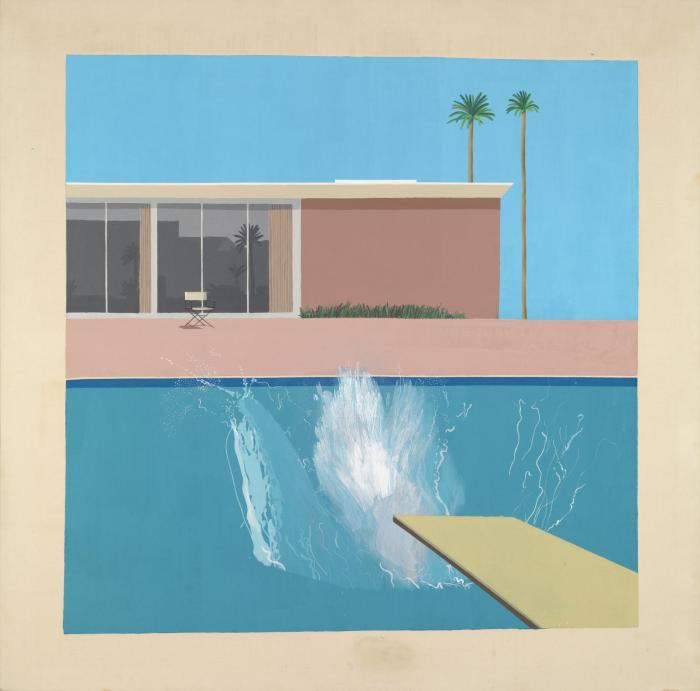 A Bigger Splash 1967 by David Hockney